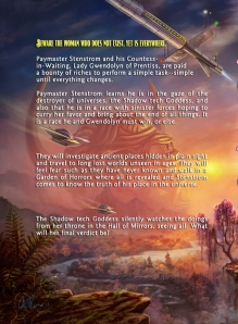 "The ""Back Cover"" of The Shadow tech Goddess, with blurb. Enlarge to read text"