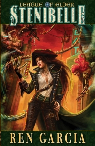Front Cover of LoE Book 9 (artwork by Carol Phillips)