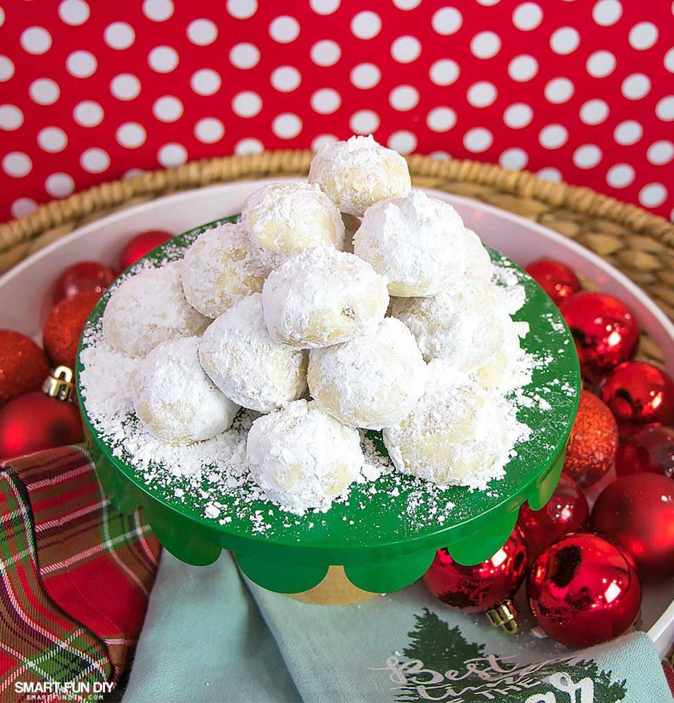 Mexican-Wedding-Cakes-Recipe-SmartFunDIY-982x1024